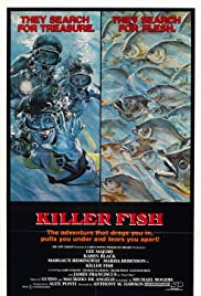 Killer Fish (1979) Poster - Movie Forum, Cast, Reviews
