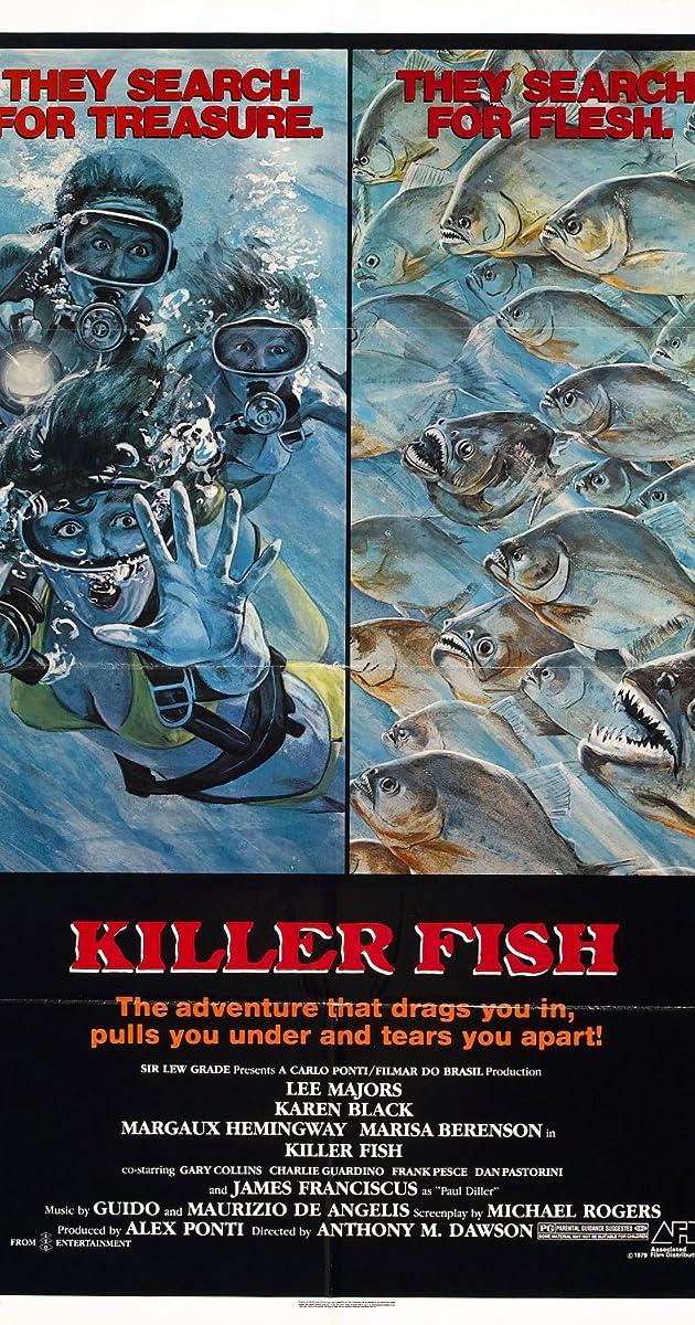Killer fish 1979 imdb for Direct tv fishing channel