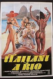 Italiani a Rio Poster