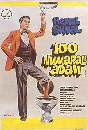 Yüz Numarali Adam Poster