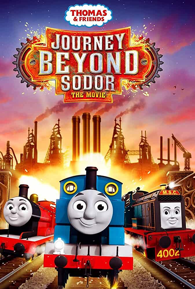 Thomas & Friends Journey Beyond Sodor (2017) HDRip-x264-AAC