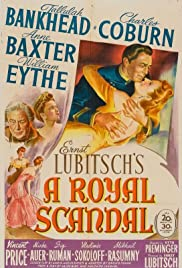 A Royal Scandal(1945) Poster - Movie Forum, Cast, Reviews