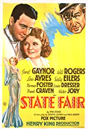 State Fair (1933) Poster - Movie Forum, Cast, Reviews