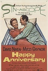 Happy Anniversary(1959) Poster - Movie Forum, Cast, Reviews