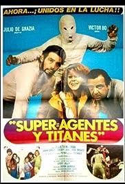 Superagentes y titanes Poster
