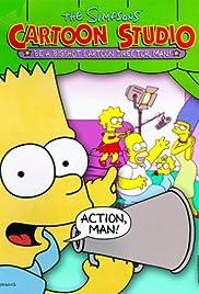 The Simpsons: Cartoon Studio Poster