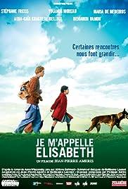 Je m'appelle Elisabeth Poster
