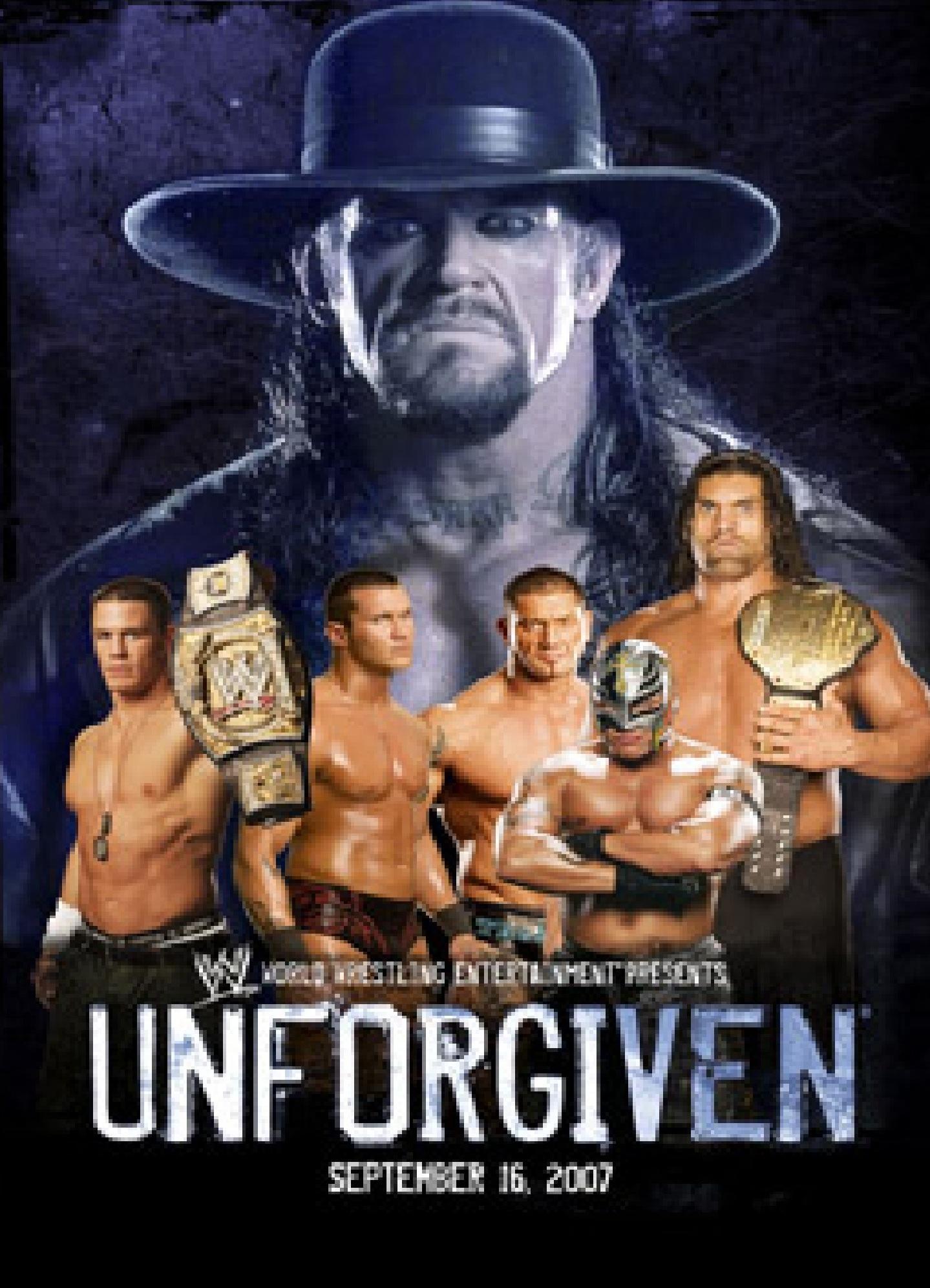 image WWE Unforgiven (2007) (TV) Watch Full Movie Free Online