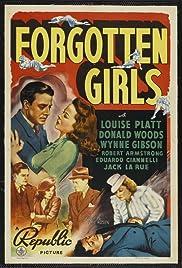 Forgotten Girls Poster