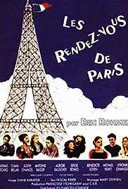 Les rendez-vous de Paris(1995) Poster - Movie Forum, Cast, Reviews