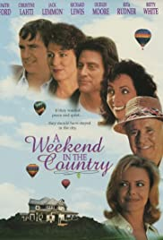 A Weekend in the Country Poster