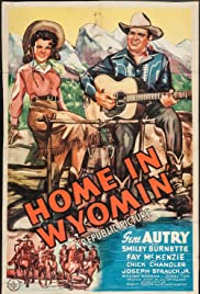Home in Wyomin' Poster