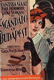Skandal in Budapest Poster