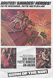 Dark of the Sun (1968) Poster - Movie Forum, Cast, Reviews