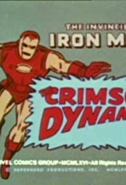The Crimson Dynamo/The Crimson Dynamo Strikes/Captured Poster