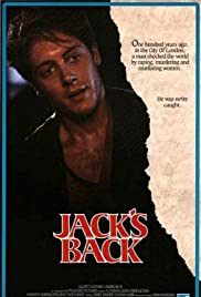 Jack's Back (1988) Poster - Movie Forum, Cast, Reviews