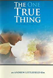 The One True Thing Poster