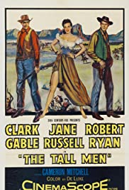 The Tall Men (1955) Poster - Movie Forum, Cast, Reviews