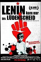 Image of Lenin kam nur bis Lüdenscheid - Meine kleine deutsche Revolution