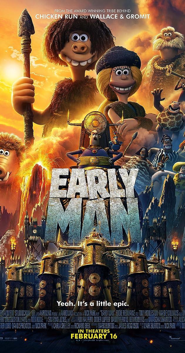 Dagas iš akmens amžiaus / Watch Early Man (2018)