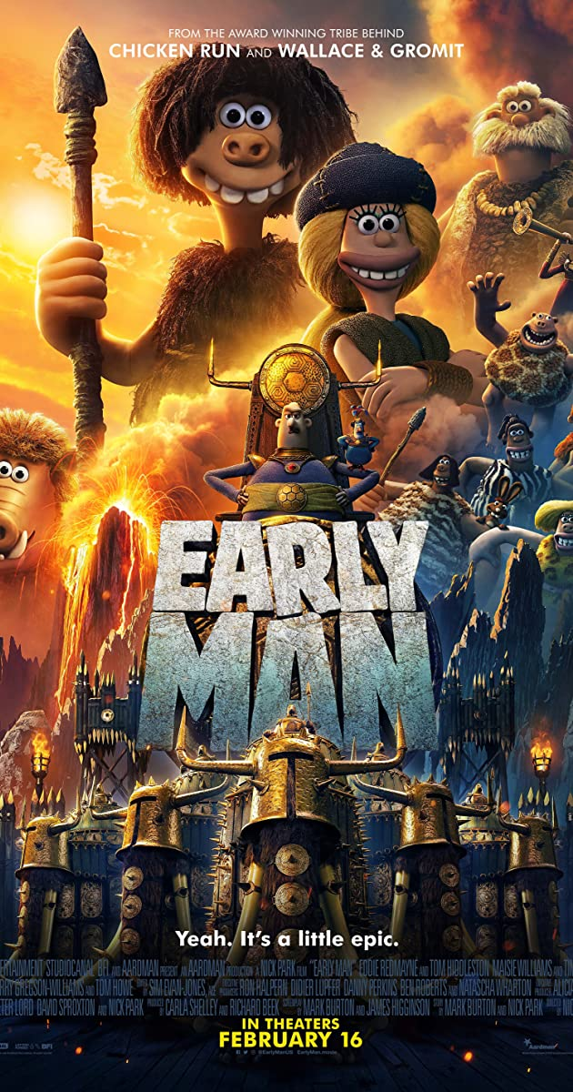 Dagas iš akmens amžiaus / Watch Early Man (2018) Online