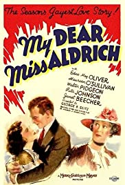 My Dear Miss Aldrich (1937) Poster - Movie Forum, Cast, Reviews