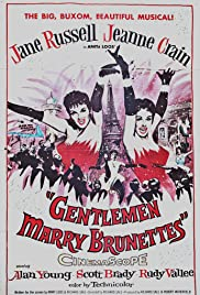 Gentlemen Marry Brunettes Poster