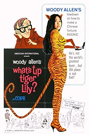 What's Up, Tiger Lily? poster
