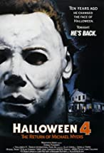 Primary image for Halloween 4: The Return of Michael Myers