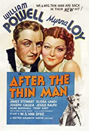 After the Thin Man (1936) Poster - Movie Forum, Cast, Reviews