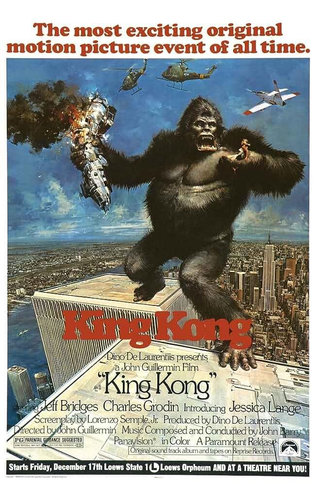 King Kong (1976) 720p BluRay x264 Eng Subs [Dual Audio] [Hindi 2.0 - English 2.0] www.movies365.me