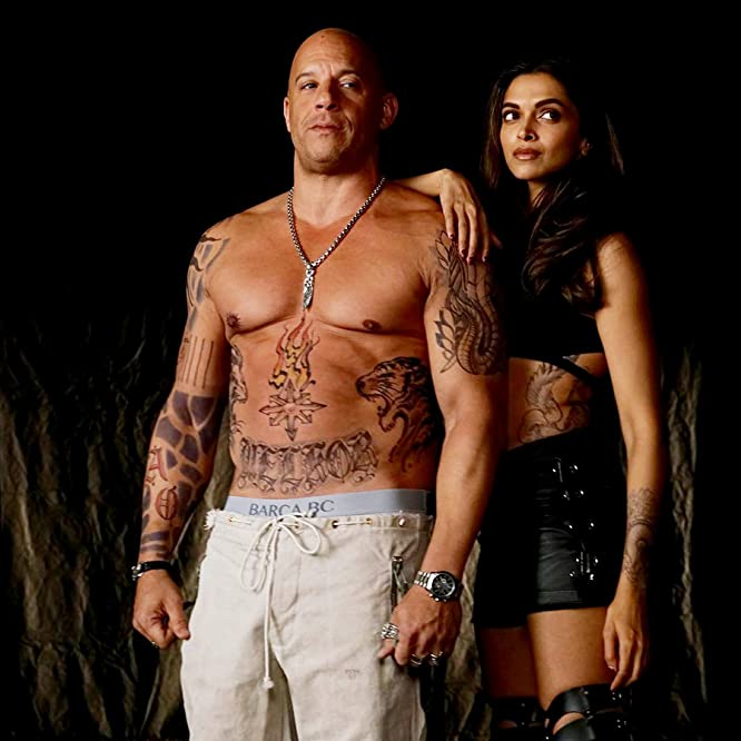 Vin Diesel and Deepika Padukone in xXx: Return of Xander Cage (2017)