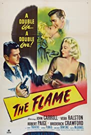 The Flame Poster