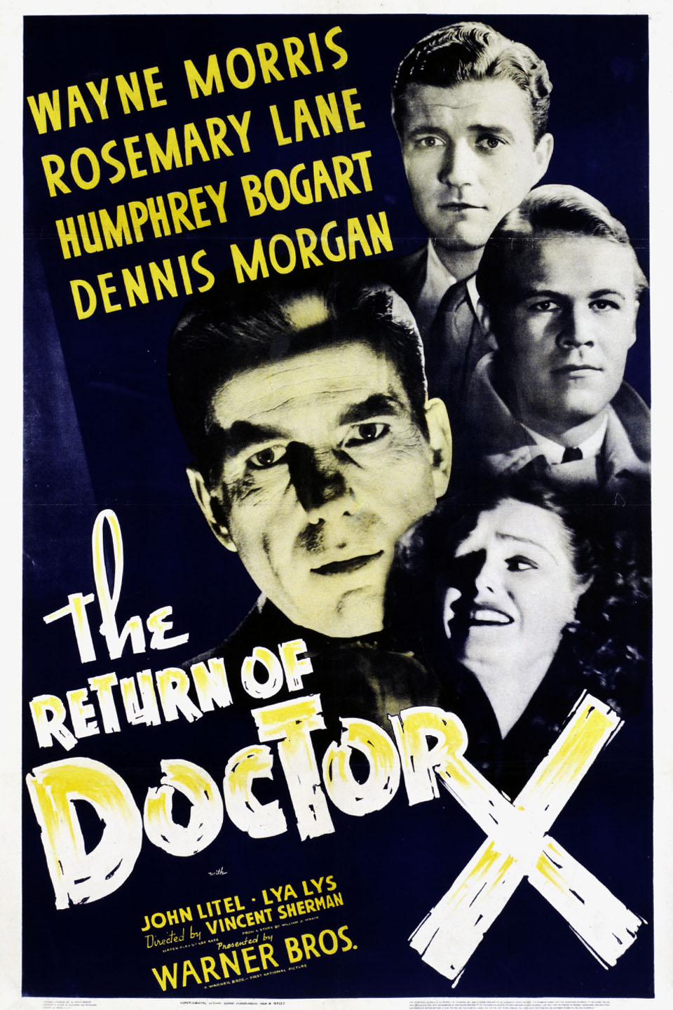 image The Return of Doctor X Watch Full Movie Free Online