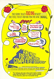 And Now for Something Completely Different (1971) Poster - Movie Forum, Cast, Reviews