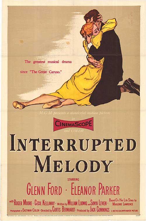 Resultado de imagem para interrupted melody 1955