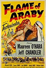Flame of Araby(1951) Poster - Movie Forum, Cast, Reviews