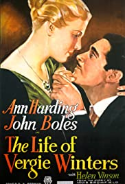 The Life of Vergie Winters(1934) Poster - Movie Forum, Cast, Reviews
