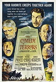 The Comedy of Terrors(1963) Poster - Movie Forum, Cast, Reviews