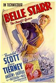 Belle Starr Poster