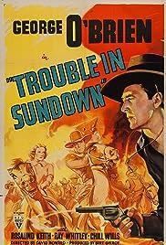 Trouble in Sundown Poster