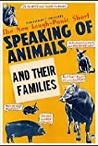 Image of Speaking of Animals and Their Families