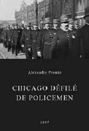 Chicago Police Parade Poster