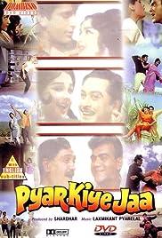 Pyar Kiye Jaa Poster