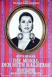 Die Moral der Ruth Halbfass Poster