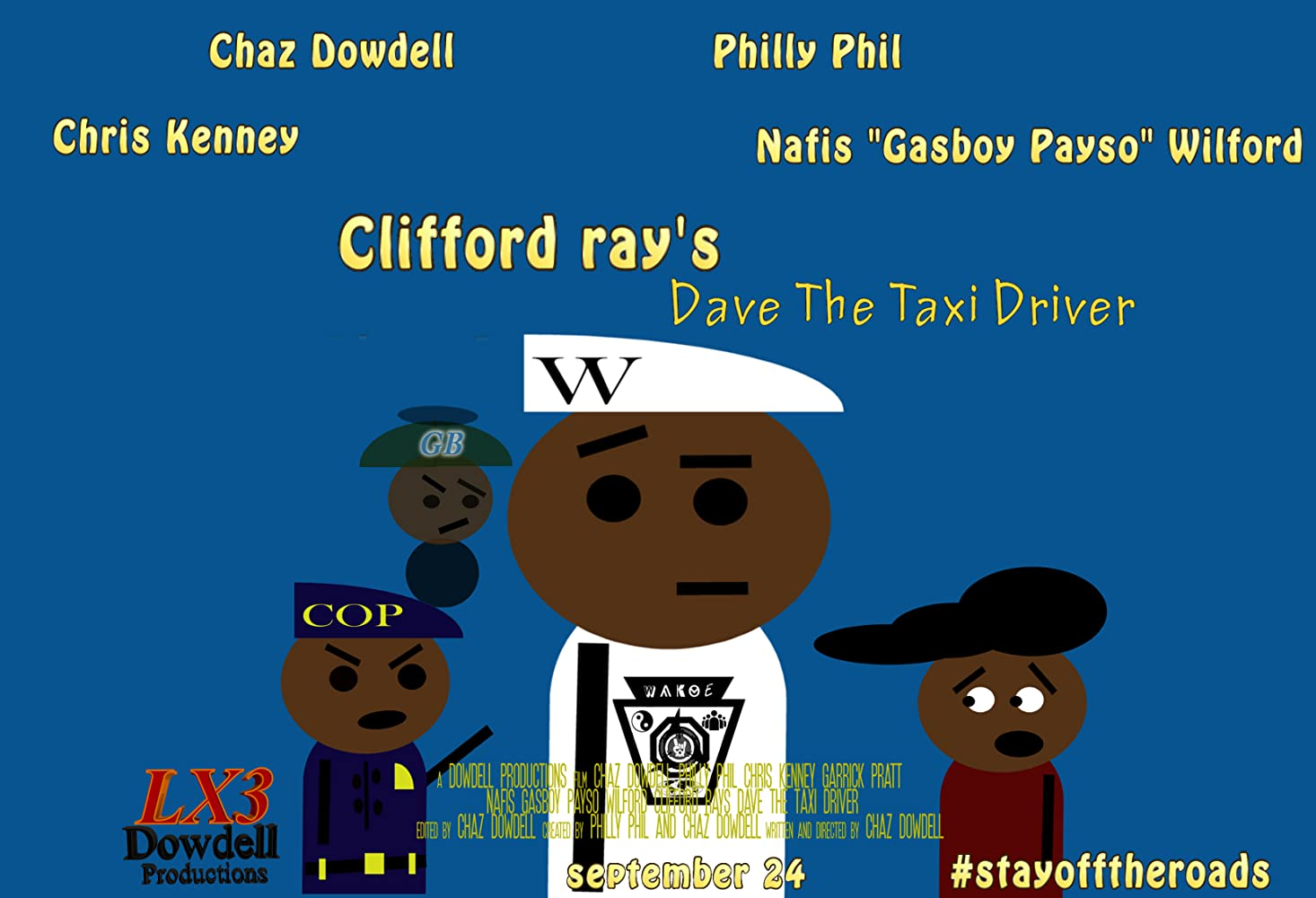 Clifford Ray s Dave the Taxi Driver 2016