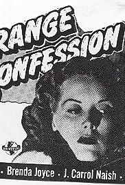 Strange Confession Poster