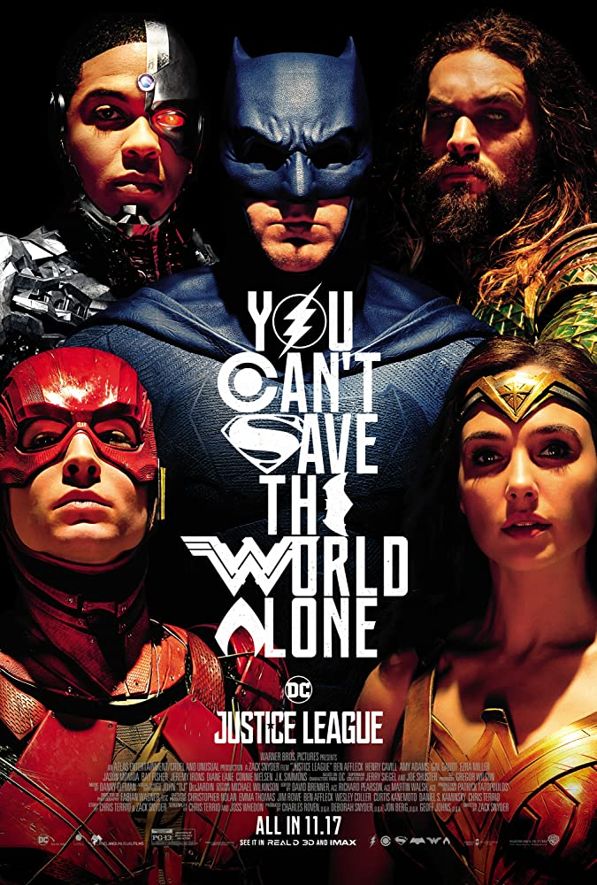 Justice League 2017 Dual Audio Movie 990MB