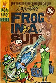 Frog in a Suit Poster