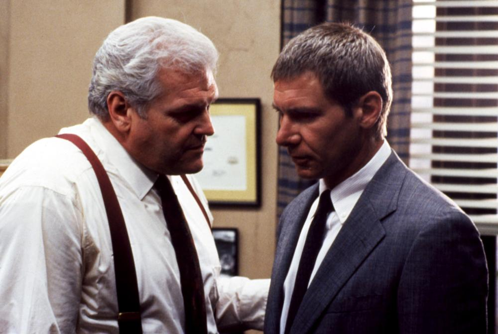 Superbe Harrison Ford And Brian Dennehy In Presumed Innocent (1990)